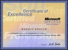 Microsoft Certified System Engineer